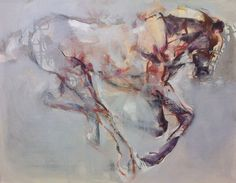 Contour Horse' in progress. Pascale Chandler