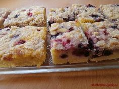 Bublanina - Czech summer cake with fruit Summer Cakes, Recipe Box, Nutella, Muffin, Baking, Fruit, Breakfast, Recipes, Homemade Food