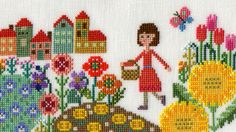 Mini Cross Stitch, Cross Stitch Cards, Cross Stitch Rose, Modern Cross Stitch, Cross Stitch Designs, Cross Stitching, Cross Stitch Patterns, Beaded Cross, Crochet Cross