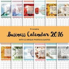 get a free printable calendar 2016 for your business or personal use
