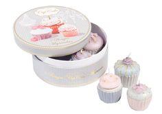 Bougies macarons, cupcakes & pâtisseries | Pretty Parade