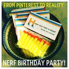 from pinterest to reality: a nerf blaster birthday - ellie petrov