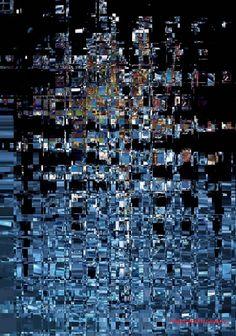 Título: Desfragmentado - Arte Digital - San Luis, Argentina - Autora: Alejandra Etcheverry