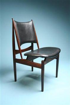 Chair, Egyptian Chair. Designed by Finn Juhl for Nils Vodder