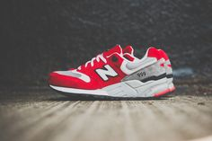 Image of New Balance M999 Elite Edition Red/White