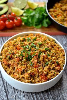 Mexican Cauliflower Rice (Grain/Gluten Free, Paleo, Whole30, Vegan)