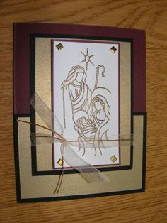 Gold Holy Triptych by 1961modelcar - Cards and Paper Crafts at Splitcoaststampers