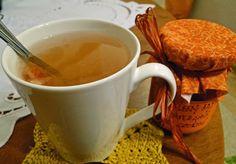 Pečený čaj s pomerančem a skořicí