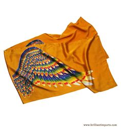 this silk scarf gives you wings :P