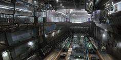 ArtStation - Build bay, James Cheong