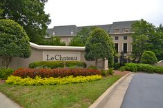 Buckhead- Le Chateau's amenities include a fitness center, pool, business center, and clubroom.