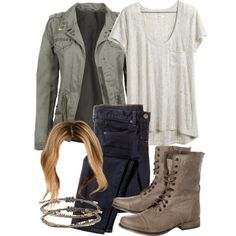 """Malia Inspired First Day of School Outfit"" by veterization on Polyvore"