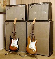 Fender Guitar Amps, Guitar Rig, Fender Stratocaster, Guitar Chords, Cool Guitar, Acoustic Guitar, Fender Vintage, Vintage Guitars, Leo Fender