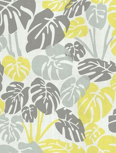 Deliciosa Designer Fabric by Aimée Wilder. Sold by the yard. Materials: 100% Cotton Sailcloth, Fine Belgian 50/50 Linen/Cotton Blend, 100% Belgian Linen, or 100% Organic Cotton Denim Length*: 1 yard (