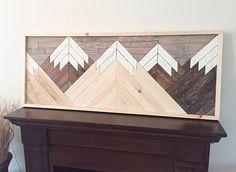 VENTA  recuperado arte de pared de madera arte de madera