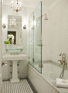 99 Small Bathroom Tub Shower Combo Remodeling Ideas (113)