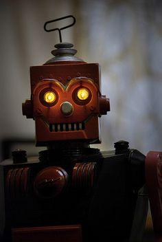 Marx-Robot by Robot Panda, via Flickr