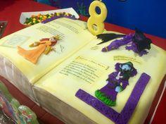 Pastel Gran libro del Reino de la Fantasía. Geronimo Stilton