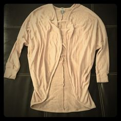 Bat-Wing Cardigan Light pink color, never worn!! From Old Navy, size XS Old Navy Sweaters Cardigans