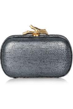 Diane von Furstenberg Lytton box clutch