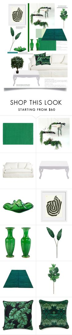 """""""The Beginning of Green'"""" by dianefantasy ❤ liked on Polyvore featuring interior, interiors, interior design, home, home decor, interior decorating, Pantone Universe, Laura Cole, Brucs and GREEN"""