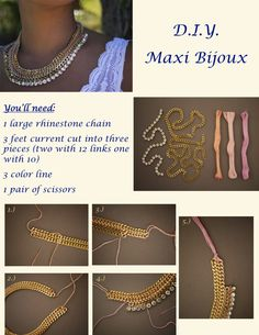 Are you looking for a maxi bijoux? So, here what you need to make your own.