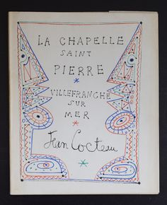 Jean Cocteau # LA CHAPELLE SAINT PIERRE # 1957, nm