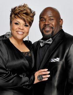 Tamela Mann and David Mann Photo - 41st NAACP Image Awards - Portraits