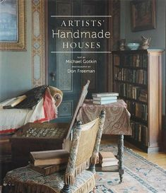 wow-a book that takes you into the homes of artists/craftsmen in America from the late 19th century to mid 20th...