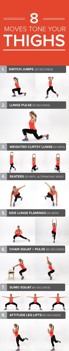 Try this short, effective workout at home or the gym and you'll be on your way to toned legs and arms in no time!