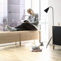 Radiator Bench and Bed Table/Stool by BLENDWERK