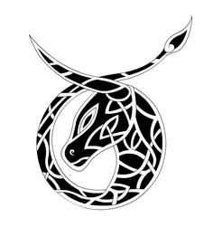 Dessin Tatouage Tribal Celtique Taureau Tt1e3nb                              …