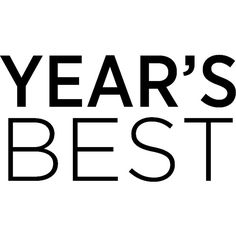 Year's Best ❤ liked on Polyvore featuring text, backgrounds, words, editorial and year's best