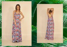 #vestido #largo #dia #noche #estampado #estampa #style #fashion #fashionista #primavera #verano #comodo #usable #femenino #chic #canchero #lasvaskas