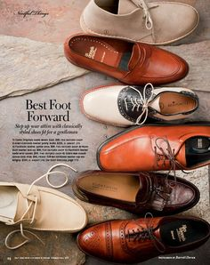 Different shoes for groom and groomsmen