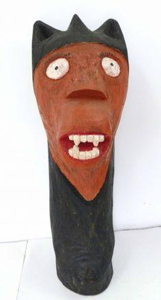 Petrônio Farias.Carranca. 65 cm