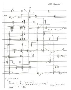 Music Score With Dance Notation  Visual Displays