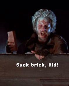 """Home Alone 2 Lost In New York. """"Suck brick, kid!"""""""