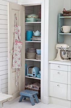 .Pretty little #shabby #kitchen corner