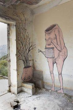 Before / After – Le street art évolutif de NemO