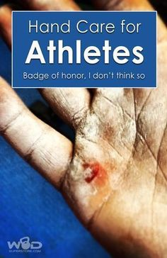 Hand care for athletes - Badge of honor? I don't think so. Crossfit Gear, Crossfit Athletes, Crossfit Equipment, Crossfit Motivation, Pole Fitness, Fitness Tips, Fitness Products, Wellness Tips, Health And Wellness