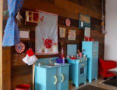 Projetos Inventivos - cozinha para festa Galinha Pintadinha