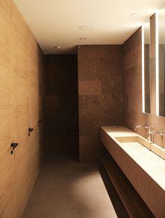 Bathroom by Claudio Silvestrin Architects