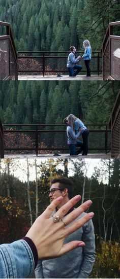 This surprise proposal is literally perfect in every way. <3