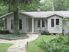 We call it, 'Paradise', private cul-de-sac in the woods with lake access Vacation Rental in Saugatuck / Douglas $2500 from @homeaway! #vacation #rental #travel #homeaway