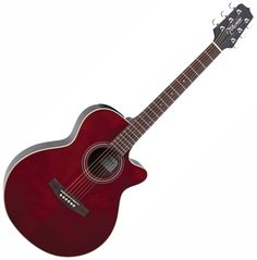 New Takamine Eg260c-Wr G Series Fxc Wine Red Acoustic Electric Guitar | Musicians Heaven