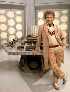 The Sixth Doctor Colin Baker | The 6th Doctor (Colin Baker) - 1984 to 1986. | DOCTOR WHO