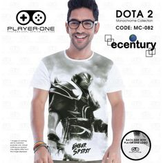 PLAYER.ONE DOTA 2 Gaming T-Shirt MC082 - EMBER SPIRIT