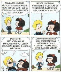 Mafalda- Tirinhas