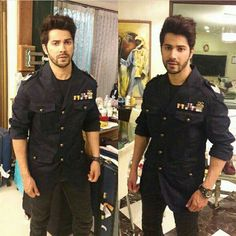 Favourite hero of Lucky Khatri. Favourite hero of Lucky Khatri. Indian Celebrities, Bollywood Celebrities, Celebrity Wallpapers, Celebrity Photos, Varun Dhawan Wallpaper, Indian Show, Alia And Varun, Bollywood Outfits, Tiger Shroff